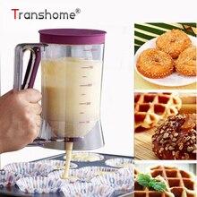 Transhome дозатор теста 900 мл блинов диспенсер DIY формы для выпечки кекса крем блендеры выпечки блинов для выпечки средство для украшения торта