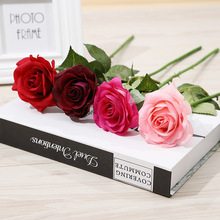 Klonca Luxury Gorgeous Cloth 42cm 2pcs/lot Fake Flower Artificial Rose for Wedding Wall Home Decor