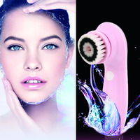 High Quality Electric Facial Cleaning Set Face Skin Cleaner Body Wash Clean Massager