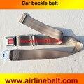 Oficial auténtica original del coche auto del cinturón de seguridad hebilla de prensa de color sólido simple canvas moda pantalones cinturón de seguridad cinturón de regalo presente