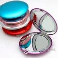 Bolsillo Del Bolso de Regalo de Bodas Espejo De Maquillaje Compacto Espejo Grabado Láser ESTÁNDAR # M065C