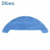 2pcs Mop Cloth For Dibea D900 Powerful Suction Automatic Self Charging Floor Cleaner Dry Wet Mopping