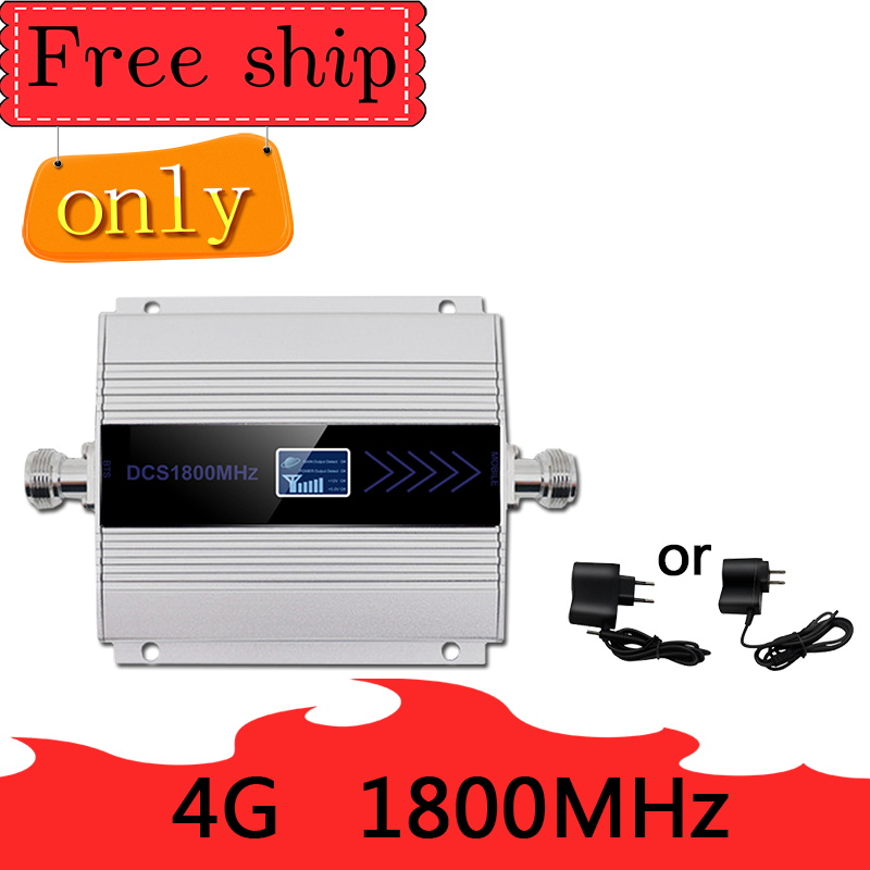 Hot  Sale  4G LTE DCS 1800mhz Cellular Repeater GSM 1800 60dB Gain Moblie Phone Booster GSM 2G 4G Amplificador Band 3