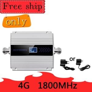 Image 1 - Sıcak satış 4G LTE DCS 1800mhz hücresel tekrarlayıcı GSM 1800 60dB kazanç cep telefon güçlendirici GSM 2G 4G amplificador band 3