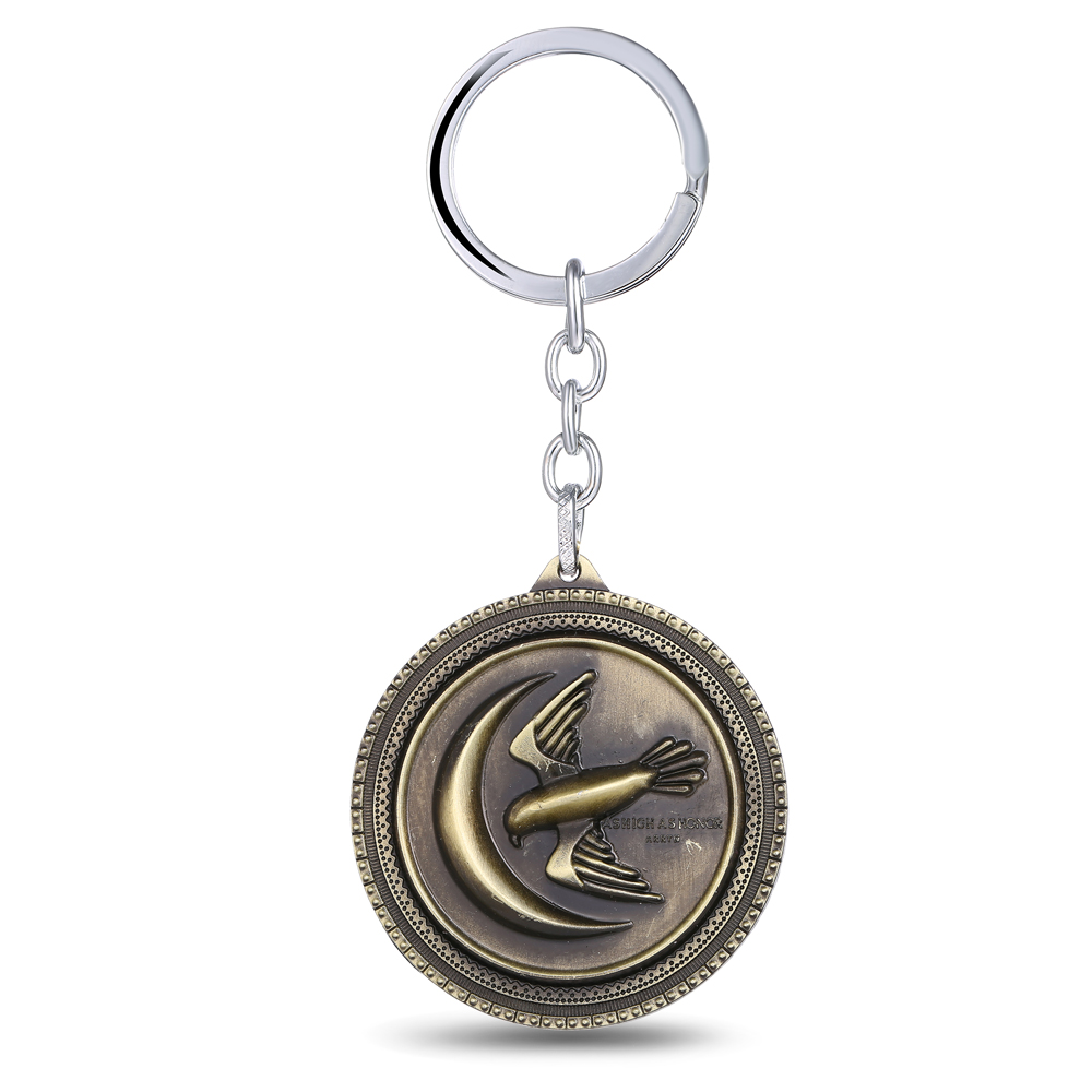MS JEWELS Movie Show Gifts Jewelry Game Of Thrones House Arryn Keychain Metal Key Rings For Present Chaveiro Key Chain