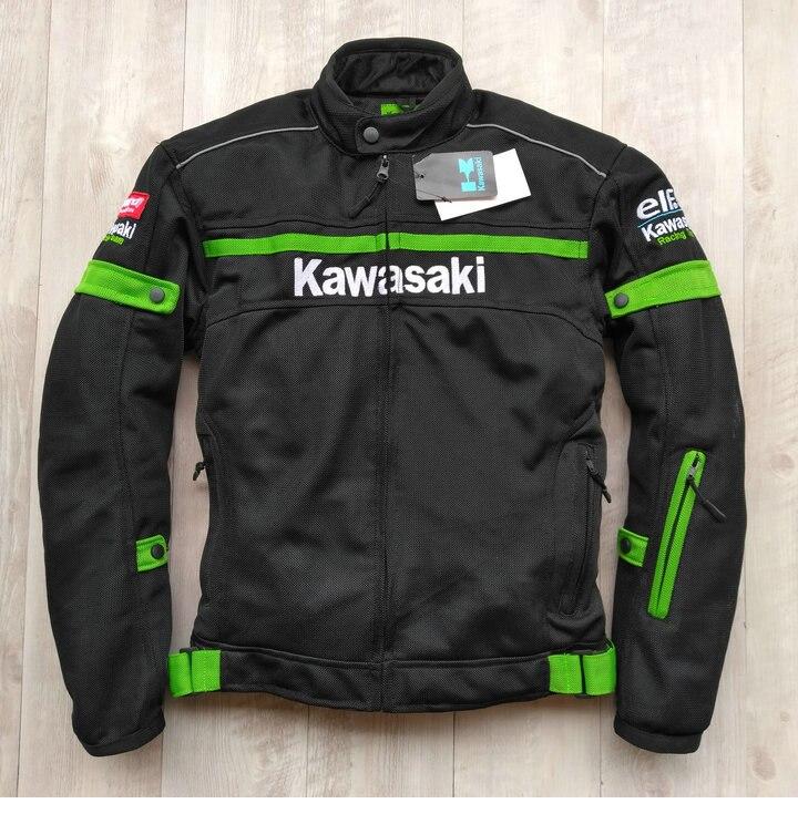 2019 quatre saisons peuvent porter pour kawasaki hommes moto cycle course chaqueta moto vêtements d'équitation jaqueta moto queiro veste moto cross