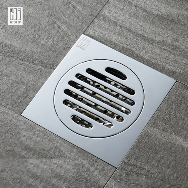 Hideep 150 Floor Drain Cover Waste Drainer Washing Drainer Dedicated Shower Floor Grate Drain Brbathroom