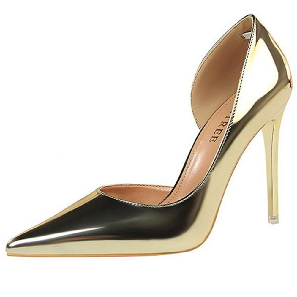 Willow Valley Black D Orsay Party Pumps Shoes For Women Fashion High Heel Two Piece Stilettos Dress Heels Slip On