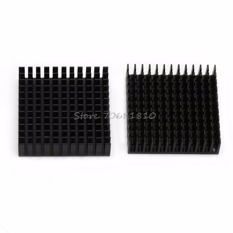 2Pcs Radiator Aluminum Heatsink Extruded Profile Heat Dissipation For Electronic Z09 Drop ship 2