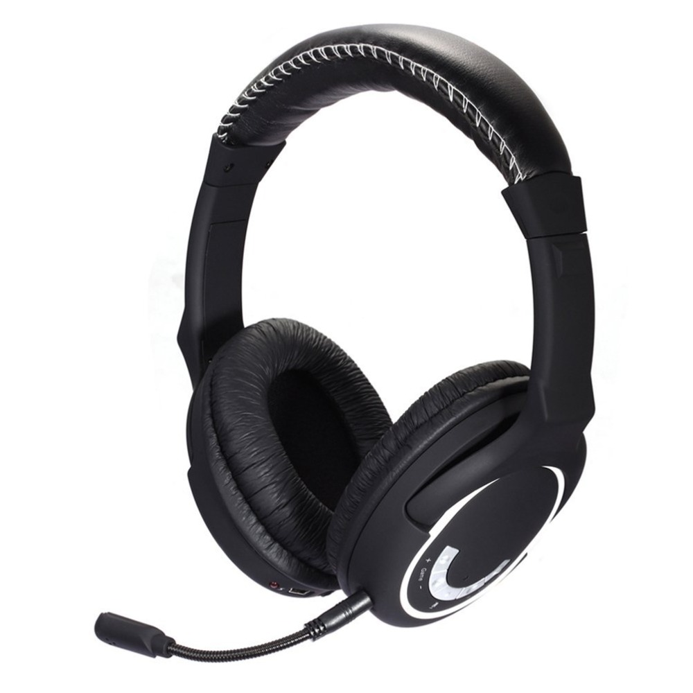 New 2019 Version 2.4Ghz Wireless Gaming Headset Stereo Headphone for Nintendo SWITCH,PS4,PC,XBox Best bass sound let you engjoy huhd hw 398 optical fiber 2 4g wireless professional stereo gaming headset for xbox one xbox 360 ps4 ps3