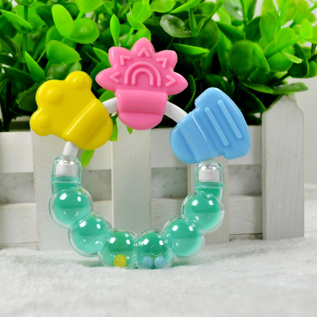 Baby Teether with Rattles