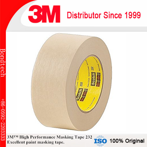 1''X55M 3M 232 Scotch High Performance Masking Tape for Medium temperature paint bake operations case size 360 80 268mm bz3608a the new silver aluminum amplifier chassis pre amplifier chassis amp case enclosure box diy