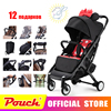YOYA PLUS Baby Strollers Ultra Lightweight Folding Can Sit Can Lie High Landscape Umbrella Baby Trolley