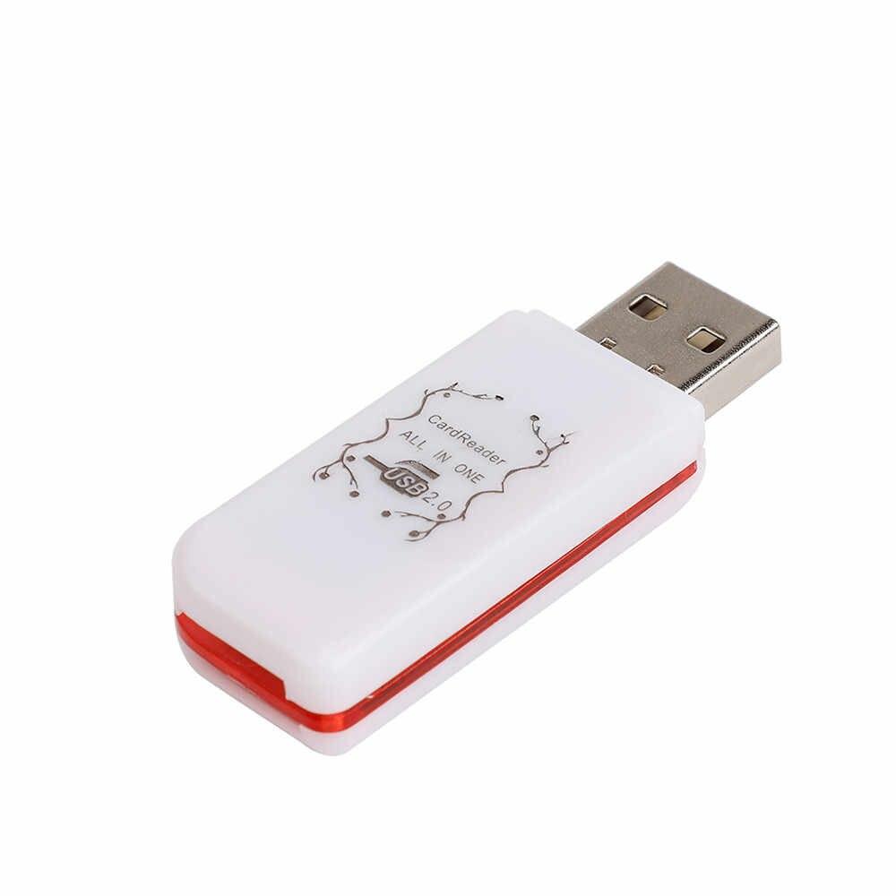 2018 Hot USB Thẻ Nhớ 4 Trong 1 Adapter Đọc Với 8/16/32/64/128 GB TF Thẻ Flash Card Micro SD SDHC TF M2 MMC MS Pro Duo