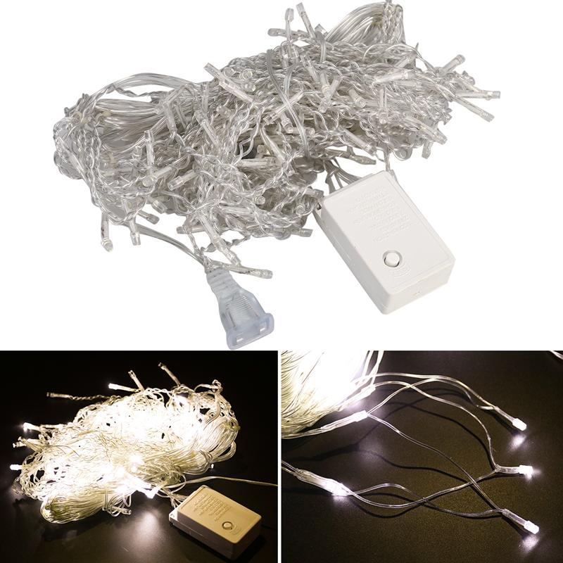 Icicle String Lights Curtain String Lights LED Curtain Light With EU Plug For House Garden Holiday Christmas Party Decoration