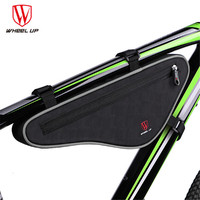WHEEL UP 2019 Large Capacity MTB Road Bike Front Bag Nylon Reflective Bike Panniers Triangle Cycling Bicycle Bags Accessories