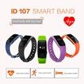 Оригинальный Браслет ID107 Smartwatch Смарт Часы Bluetooth 4.0 Heart Rate Monitor Спорт Фитнес-Трекер Спорта Браслет Умный браслет