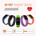 Original Wristband ID107 Smart Watch Bluetooth 4.0 Heart Rate Monitor Smartwatch Sport Fitness Tracker Sport Bracelet Smart band