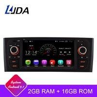 LJDA Android 9.1 Car DVD Player For Fiat Grande Punto Linea 2007 2008 2009 2010 2011 2012 Multimedia Stereo GPS 1 Din Car Radio