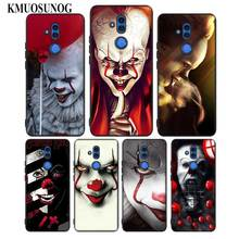 For Huawei Honor Mate 7C 7A 8 8X 9 9N 10 20 Nova 3 3e 3i  Pro Lite Black Silicon Phone Case Pennywise Clown Style for huawei honor mate 7c 7a 8 8x 9 9n 10 20 nova 3 3e 3i pro lite black silicon phone case adventure time style
