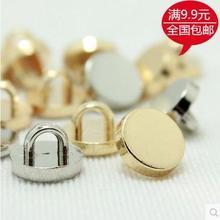 Модная тонкая серебряная и Золотая двухцветная металлическая Однотонная рубашка с пуговицами золотые пуговицы для кардигана 200 шт./лот