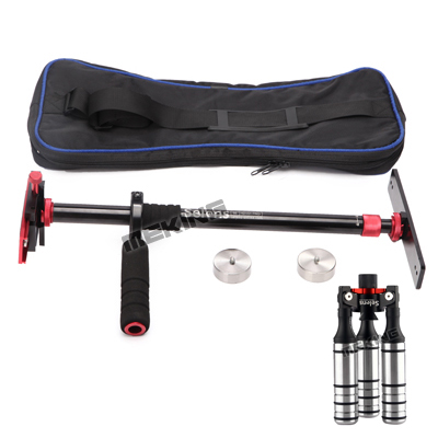 Selens PRO Handheld Support steadicam Camera Video Handy Stabilizer tripod monopod with Carrying Bag for Canon Nikon Sony selens pro 100x100mm 12nd square medium