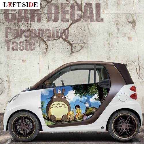Linke Seite Autoaufkleber Smart Cartoon Hubsch Katze Kinder Ganzen