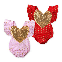2017 Fashion Baby Clothes Infant Baby Girl Romper Twin Baby Clothing Infant Summer Clothes