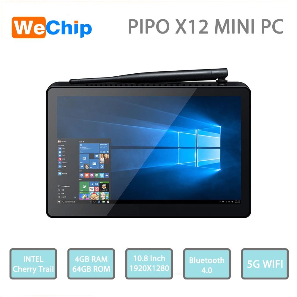 PIPO X12 Mini PC Windows10 Cherry Trail Z8350 Intel HD ROM WiFi 1000 Mbps BT4.0 Support 4 K