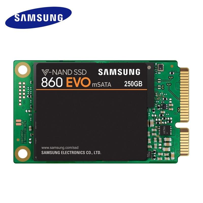 100 new SAMSUNG 860 EVO mSATA SSD 500G Internal Solid State Disk Drive 250G 1TB large
