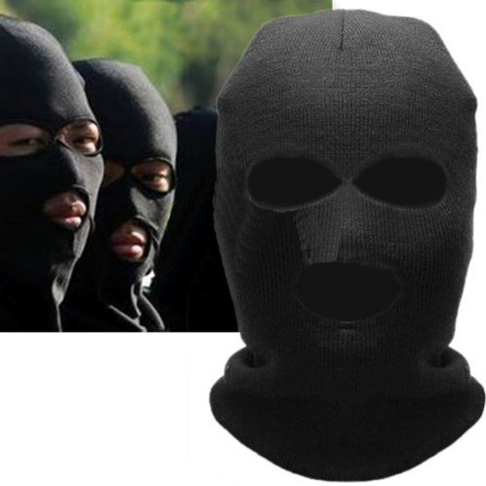 Baseball Sport Caps Motorcycle Neck Winter Ski Full Face Mask Cover Hat Cap  Black Cycling Face Mask-in Cycling Face Mask from Sports   Entertainment on  ... 0532d0c33d4a