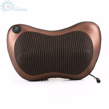 Infrared Heating Versatile Car Home Massage Pillow Neck Cervical Traction Massager Cushion Car Seat Cover Relaxation Massage