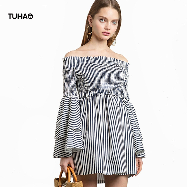 Girls Vestido Smock Dressed Neck & Neck Clearance Many Kinds Of 2018 Factory Outlet Cheap Great Deals Amazing t0cknR3