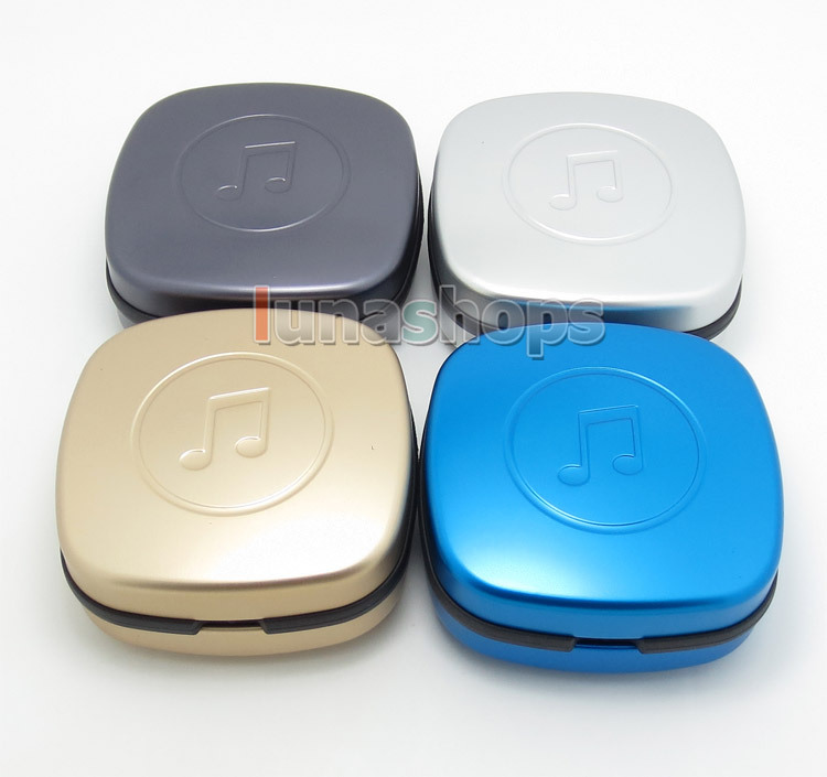 Aluminium Alloy Earphone Headset Box bag For UE w40 Logitech Ultimate Ears TripleFi 10 TF10 Shure Westone Fitear LN004372