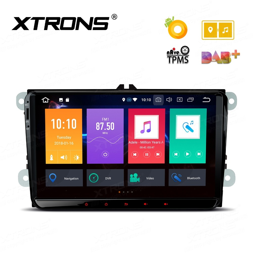 Android 8.0 OS 9 Car Multimedia Navigation GPS Radio for Volkswagen Amarok 2010-2015 & Caddy 2003-2015 & T5 Multivan 2010-2013 image
