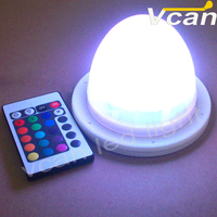 5PCS FAST Free Shipping Lithium Battery Cordless Led Table Lamp With colors change remote control