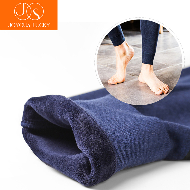 JOYOUS LUCKY 2 PCS Thermal Underwear men Buy 1 Get 1 Free Thermos Pants Wool Cotton Thicken Trousers Men's Winter Warm Pants