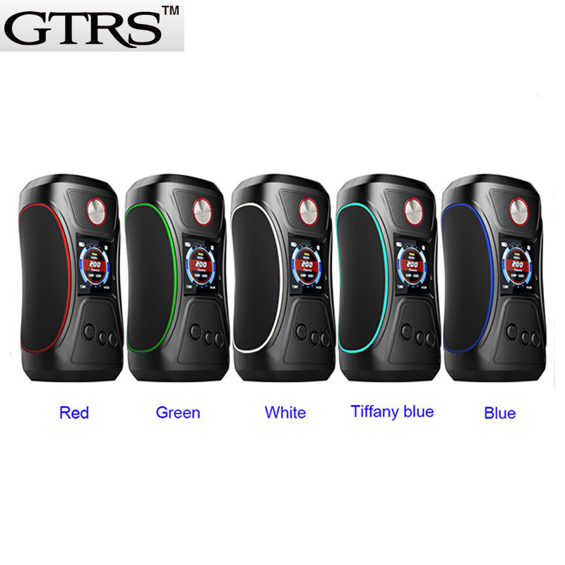 Original GTRS V BOY 200W TC Box Mod SX500 YiHi Chip High-performance Chipset 18650 Vape Cigarettes VBOY Mods Version 2 VBoy 200 original kangside gtrs gt200 box mod limou chip mod vape 18650 upgrade gt150 mod 18650 vape mods vaporizer
