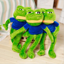 New Creative Cute Sad Frog Soft Short Plush Toys Stuffed Animal Plush Doll Toy Children Birthday Gift Baby Toys стоимость
