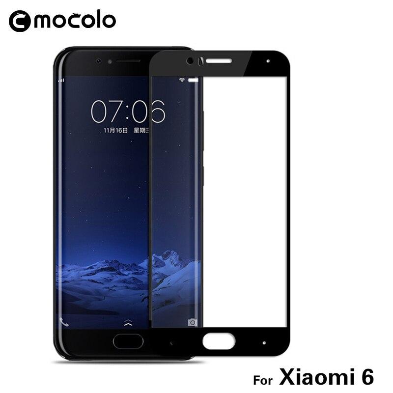 imágenes para Original m6 mocolo vidrio templado para xiaomi 10 unids/pack mi6 xiaomim6 xiaomi mi 6 cubierta de la película del protector de pantalla de cristal templado