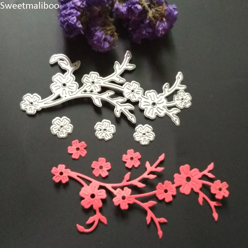 Aliexpress.com : Buy Metal CUTTING DIES Plum Flower