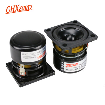 GHXAMP 2 inch Portable Bluetooth Speaker DIY Full Range Speaker Unit 10W  Tweeter Mid Bass Audio For Laptop Boombox  Radio 2PCS turbine