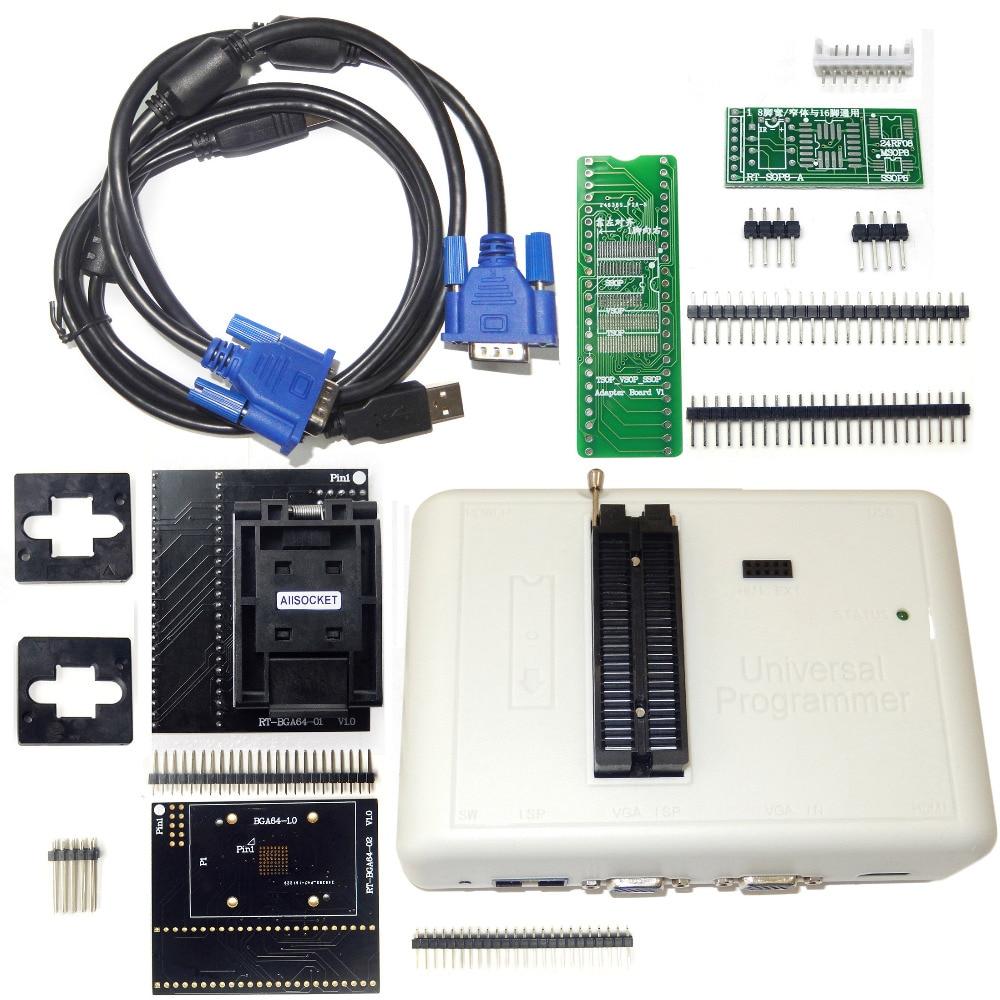 RT809H EMMC Nand FLASH Programmer BGA64 Special EMMC Adapter For RT809H Programmer RT BGA64 01 Socket
