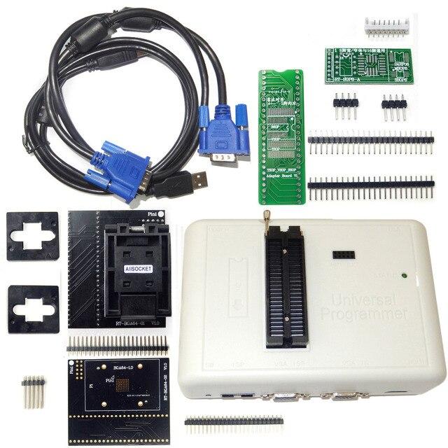 RT809H EMMC   Nand FLASH Programmer + BGA64 พิเศษ EMMC สำหรับ RT809H โปรแกรมเมอร์ RT BGA64 01 ซ็อกเก็ต