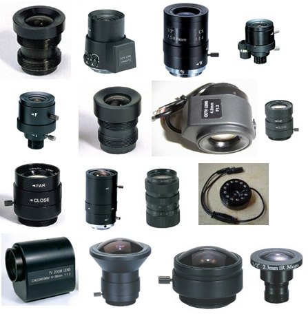 CCDCAM EL-0614A 6 Mm Auto Iris CCTV LENS (dc Drive) For CCTV Security System