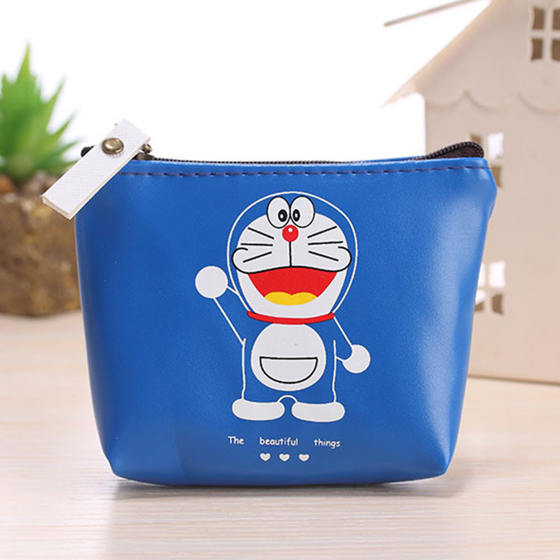 New Waterproof Design Women Coin Purse Wallets Cute Cartoon Headset Package PU Leather Money Handbag Ladies Clutch Card Holder 2017 new women wallets cute cartoon bear lady purse pu leather clutch wallet card holder fashion handbags drop shipping j442