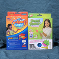 1 set bouncing bubbles set kids toy with magic glove 20cm Safe non-toxic Gazillion Juggle Bubbles activity tool set