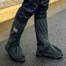 MOTRAVEL Motorcycle Waterproof Rain Shoes Covers Scootor Riding Cycling Non slip Boots Covers Adjusting Tightness Shoes