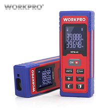 WORKPRO 20m 40m Laser Distance Meter Rangefinder Digital  laser range finder tape distance measurer