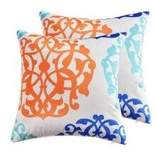GGGGGO HOME,Velvet fabric classic flower print sofa cushion cover,pillow throw cover cushion/cojines for home/office decor